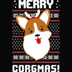 Merry Corgmas Christmas Sweater Sweatshirt Corgi Christmas