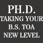PH.D. Taking Your B.S
