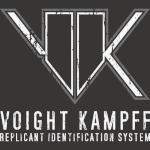Blade Runner Voight Kampff Machine Logo Grunge