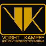 Blade Runner Voight Kampff Replicant Identification Systems
