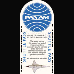 2001 A Space Odyssey Pan Am Pass