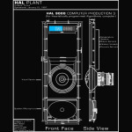 2001 A Space Odyssey Hal 9000 Blueprint