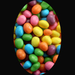 Cool Colorful Sweet Easter Jelly Beans Candy