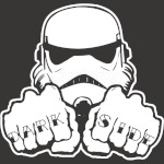 Dark Side Knuckle starwars stormtrooper