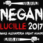 Negan Lucille 2017