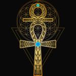 Sacral Egyptian Guardian Symbol