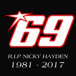 69 RIP Nicky Hayden 1981 - 2017