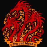 dracarys game of thrones fire and blood