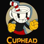 Cuphead Circle Shadow Profile Vintage