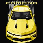 Camaro 6th SS - Yellow