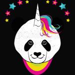 Pandacorn Panda bear Unicorn Magical T-Shirt
