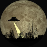 UFO in the Night T-Shirt