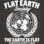 Flat Earth Society T-Shirt