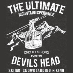 Mountain Experience Devils Head T-Shirt