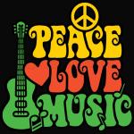 Reggae Peace-Love-Music