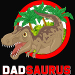 Dad Saurus T Shirt and Gifts