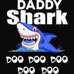 Daddy Shark Doo Doo Doo Doo T Shirt gifts