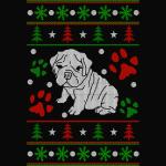 Bulldog Christmas