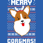 Merry Corgmas Christmas Sweater Sweatshirt Corgi Christmas