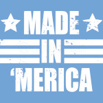 Made In 'Merica USA American Vintage