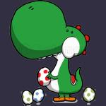 Dinosaur with The Eggs