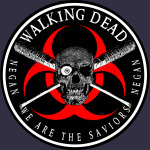 Biohazard Walking Dead  We Are The Saviors Negan Ring Patch