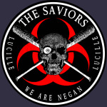 Biohazard The Saviors We Are Negan Ring Patch