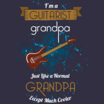 Guitar T-shirt - Real grandpas play guitar