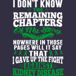 I Dont Know My Story Fight Against Kidney Disease