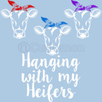 Hanging with my Heifers