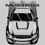 Mustang S550 - Dark Transparent/Multi Color