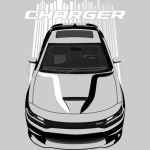 Charger -  Bright Transparent/Multi Color