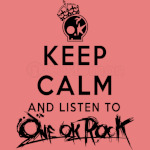one ok rock keep calm
