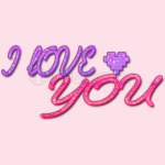 I Love You and you