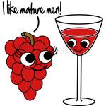 I like mature men Grape