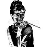 zombies audrey hepburn evil dead zombie