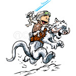Parody Calvin and Hobs CALVIN AND HOTH
