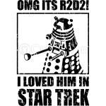 OMG its r2d2 I loved him in Star Trek