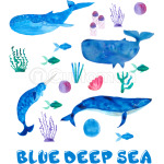 BLUE DEEP SEA