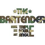 THE BARTENDER -  CAMO