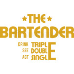 THE BARTENDER -  GOLD