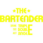 THE BARTENDER -  YELLOW