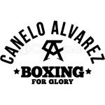 CANELO ALVAREZ - BOXING FOR GLORY - BLACK