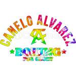 CANELO ALVAREZ - BOXING FOR GLORY - TIE DYE