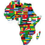 Proud African Country Flags Continent Love