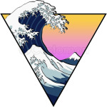 Great Wave Aesthetic
