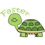 faster tortoise