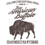 American Buffalo Yellowstone T-Shirt