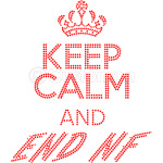 keep calm and end nf