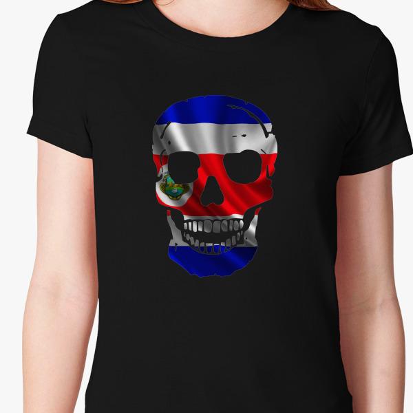 Buy SKULL COSTA RICA Women's T-shirt, 110049